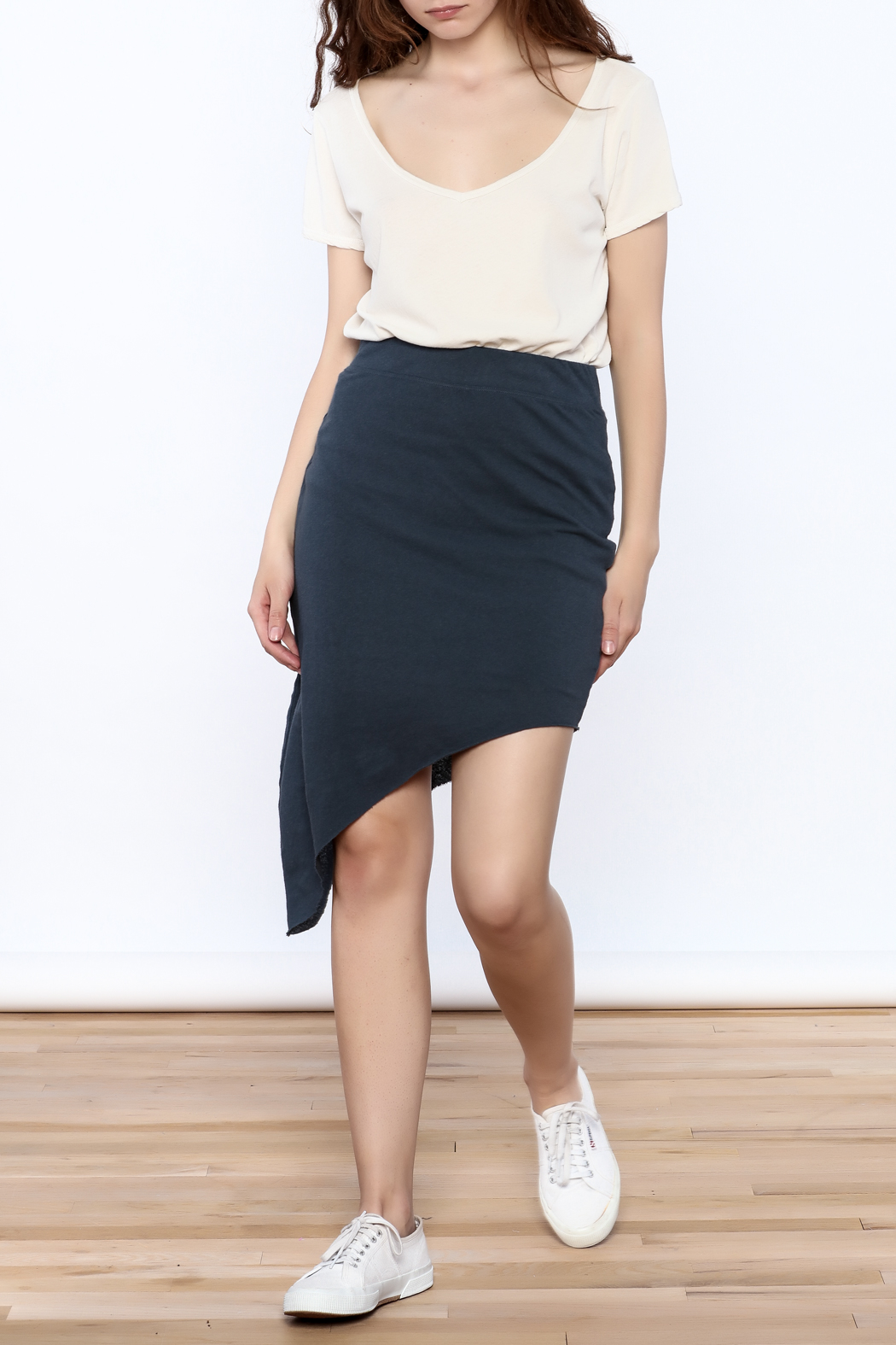 Frank And Eileen Asymmetrical Short Skirt from Oklahoma by ...