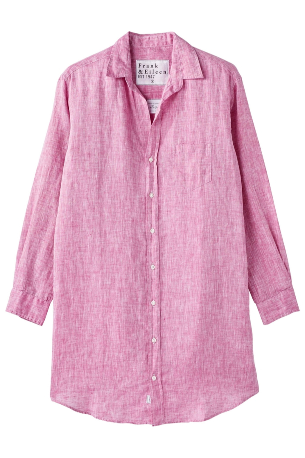 Frank And Eileen Frank & Eileen Mary Woven Button Up Dress - Side Cropped Image