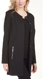 Frank Lyman Black Collarless Jacket 183566 - Product Mini Image