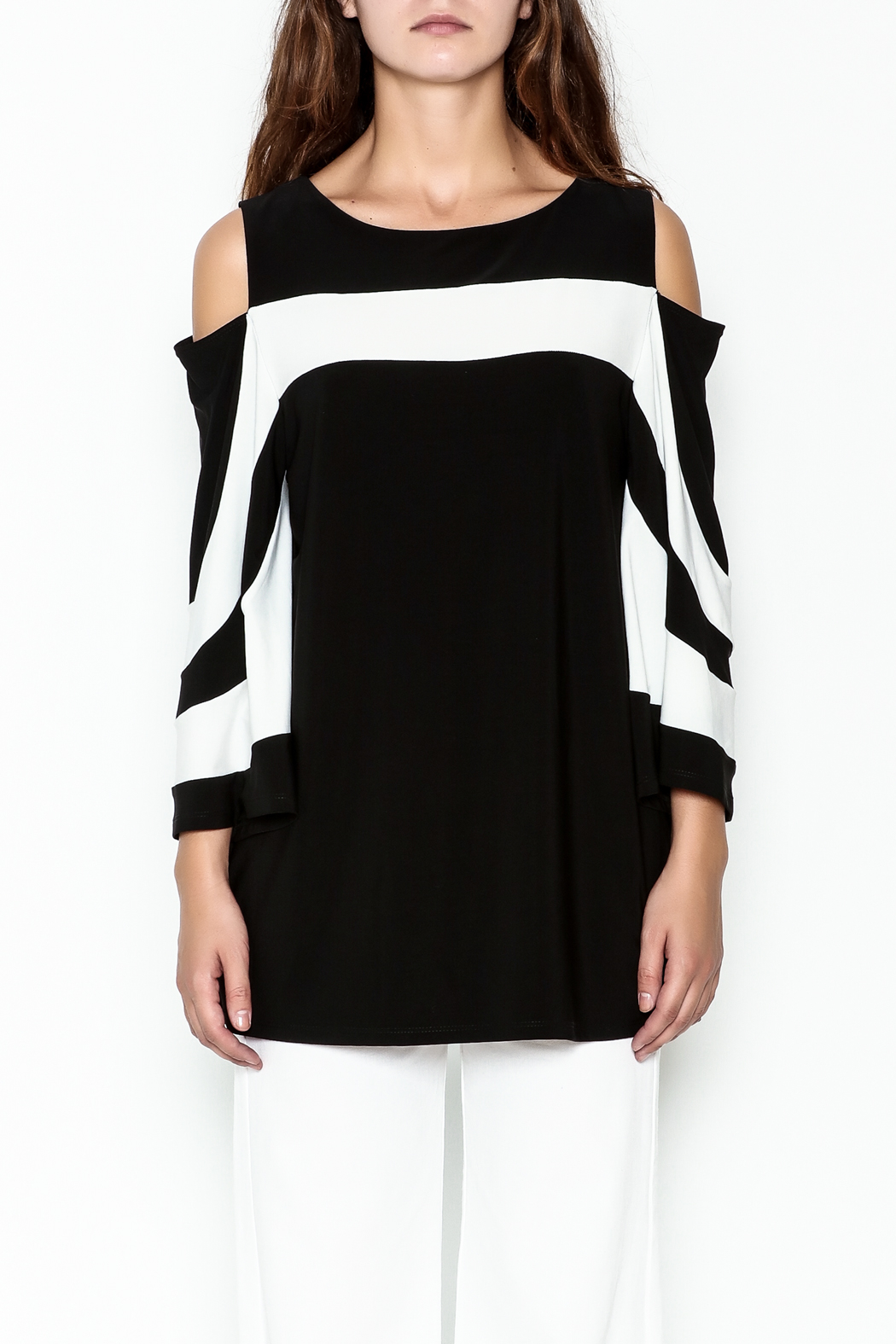Frank Lyman Butterfly Sleeve Tunic - Front Full Image