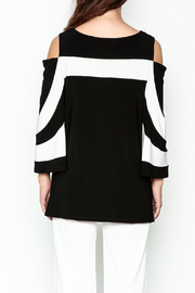 Frank Lyman Butterfly Sleeve Tunic - Back cropped