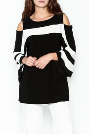 Frank Lyman Butterfly Sleeve Tunic - Front cropped