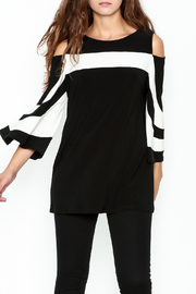 Frank Lyman Striped Knit Top - Product Mini Image