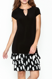 Frank Lyman Ruffle Hem Dress - Product Mini Image