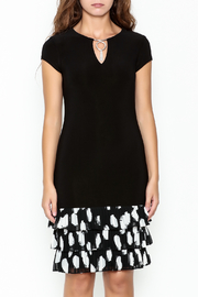 Frank Lyman Ruffle Hem Dress - Front full body