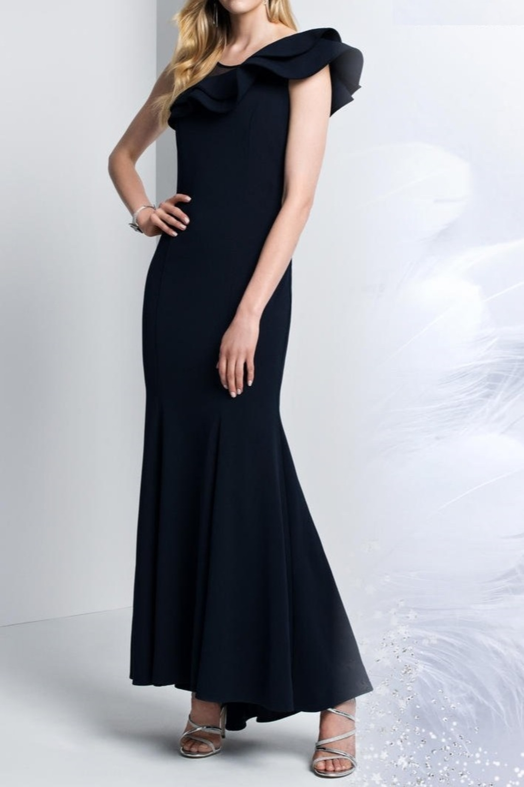 Lyman Frank  Full Length Gown - Front Cropped Image
