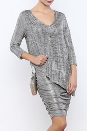 Frank Lyman Metallic Necklace Dress - Product Mini Image