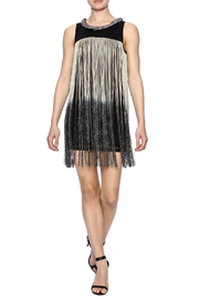 Frank Lyman Ombre Fringe Tunic - Front full body