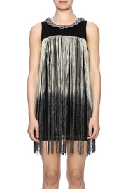 Frank Lyman Ombre Fringe Tunic - Side cropped