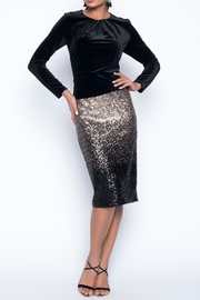 Lyman Frank  Sequins Pencil Skirt - Product Mini Image