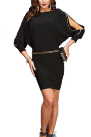 Frank Lyman Stretch Dress Cold Shoulder - Product Mini Image
