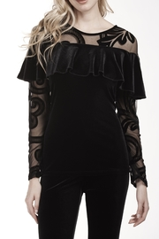 Frank Lyman Velvet Top 189387 - Product Mini Image