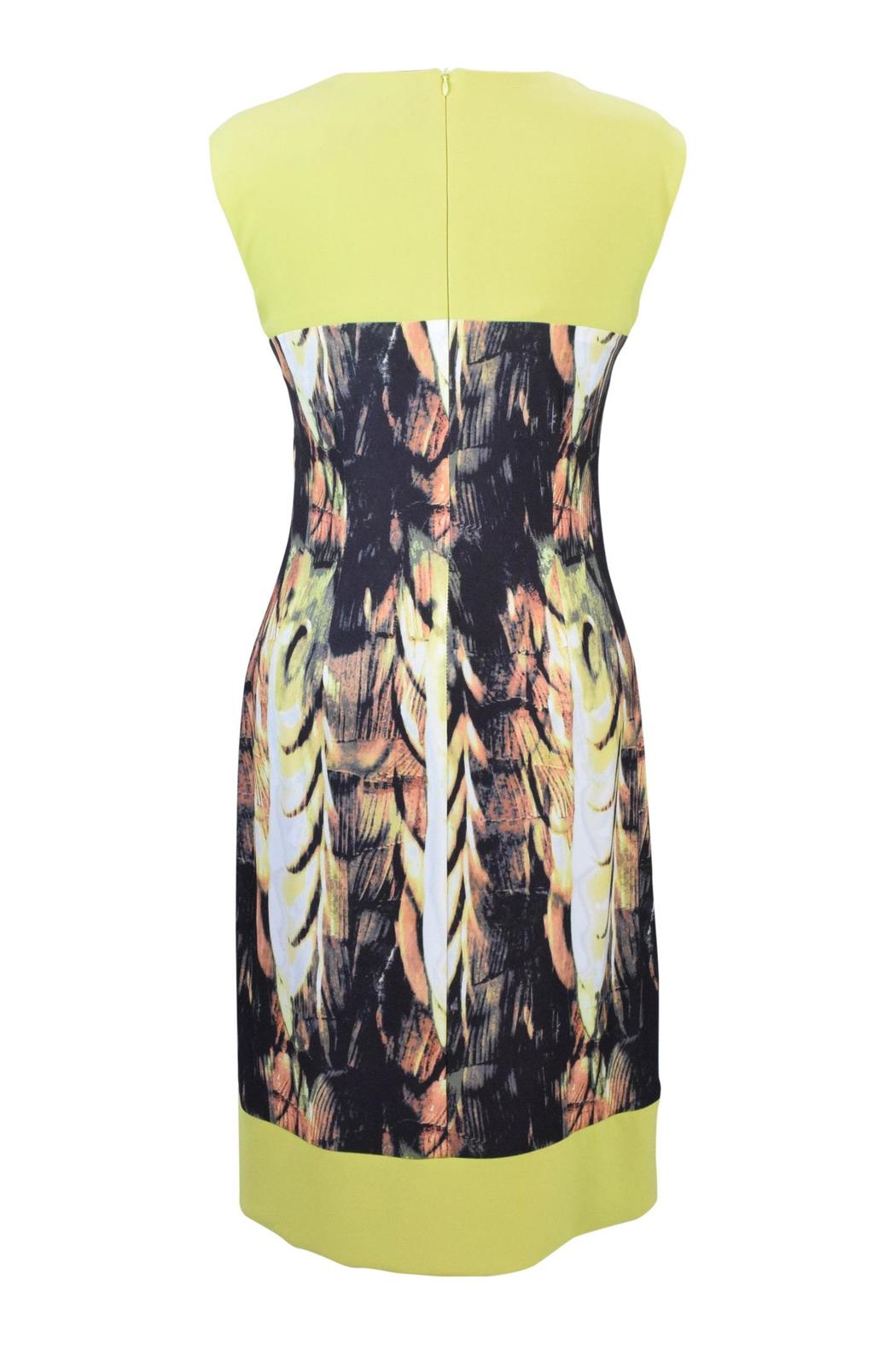 Frank Lyman Abstract Citrus Dress - Front Full Image