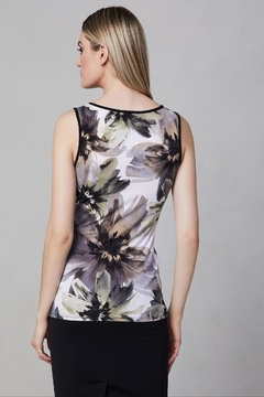 Frank Lyman Abstract Floral Top - Alternate List Image