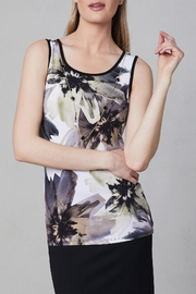 Frank Lyman Abstract Floral Top - Product Mini Image