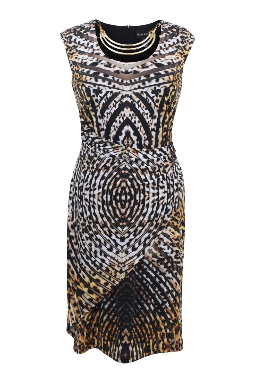 Frank Lyman Animal Print Dress - Main Image
