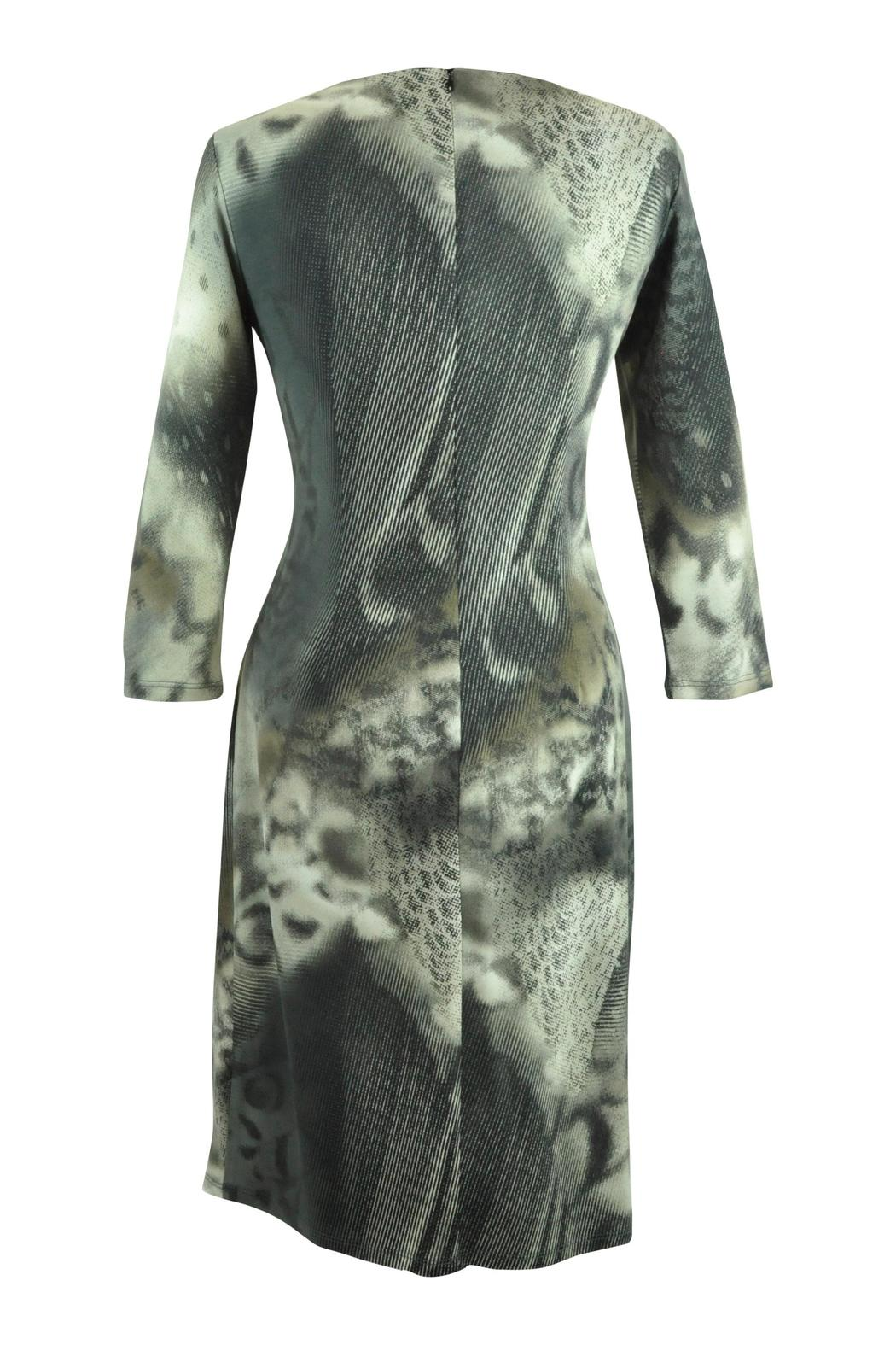 Frank Lyman Abstract  Print Dress - Front Full Image