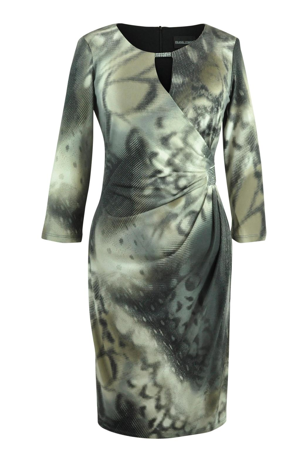 Frank Lyman Abstract  Print Dress - Front Cropped Image