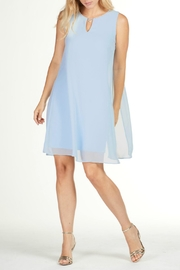 Frank Lyman Blue Chiffon Dress - Product Mini Image