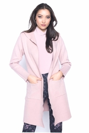 Frank Lyman Blush Duster Coatigan - Product Mini Image