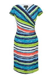 Frank Lyman Bright Stripe Dress - Product Mini Image