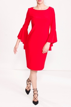 Shoptiques Product: Cascading Sleeve Dress