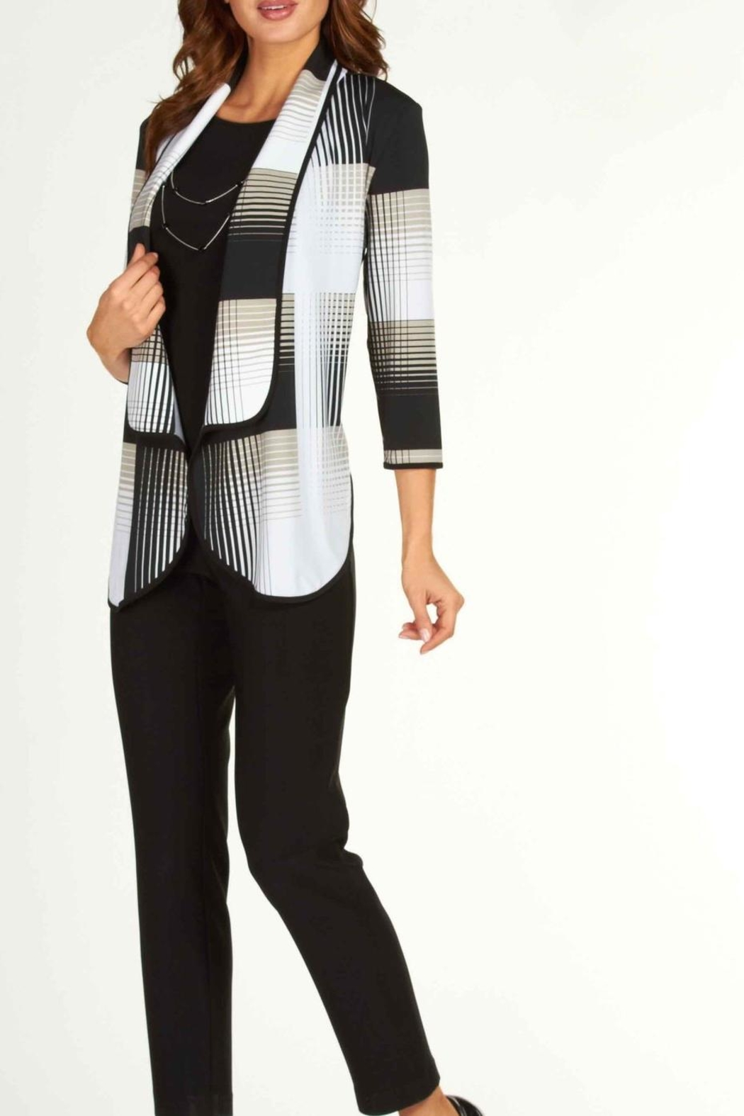 Frank Lyman Chic Swing Jacket - Front Cropped Image