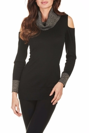 Frank Lyman Cold Shoulder Sweater - Product Mini Image
