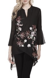 Frank Lyman Embroidered Chiffon Tunic - Product Mini Image