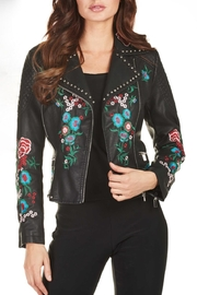 Frank Lyman Faux Leather Jacket - Product Mini Image