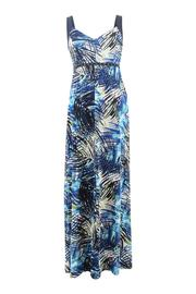 Frank Lyman Fern Print Maxi Dress - Product Mini Image