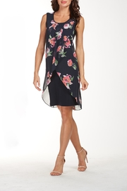 Frank Lyman Floral Overlay Dress - Product Mini Image