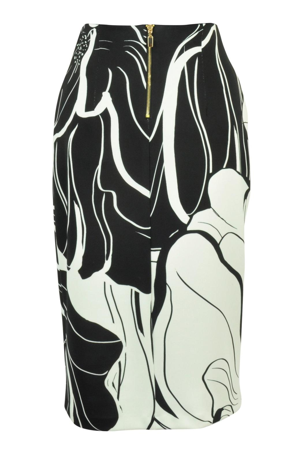 Frank Lyman Floral Pencil Skirt - Front Full Image