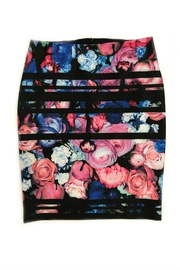 Frank Lyman Floral-Print Pencil Skirt - Product Mini Image