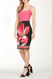Frank Lyman Floral Zip Skirt - Product Mini Image