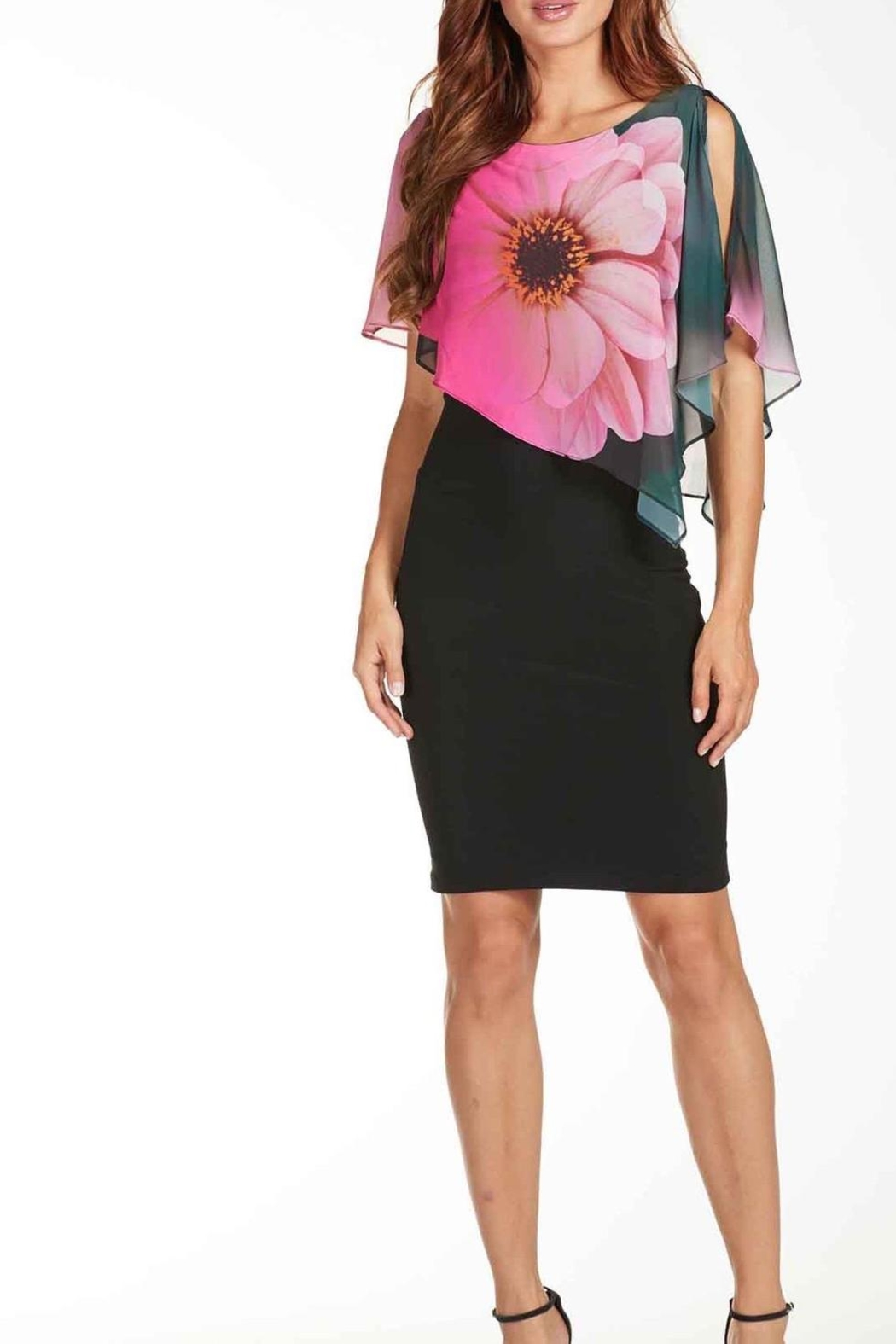 Frank Lyman Black Floral Bodycon Dress from Canada by Didi's ...