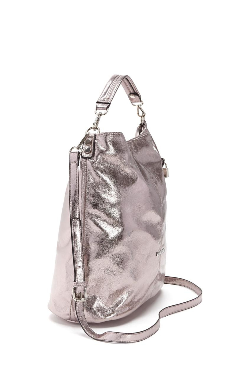 Frank Lyman Glam Bucket Bag - Side Cropped Image