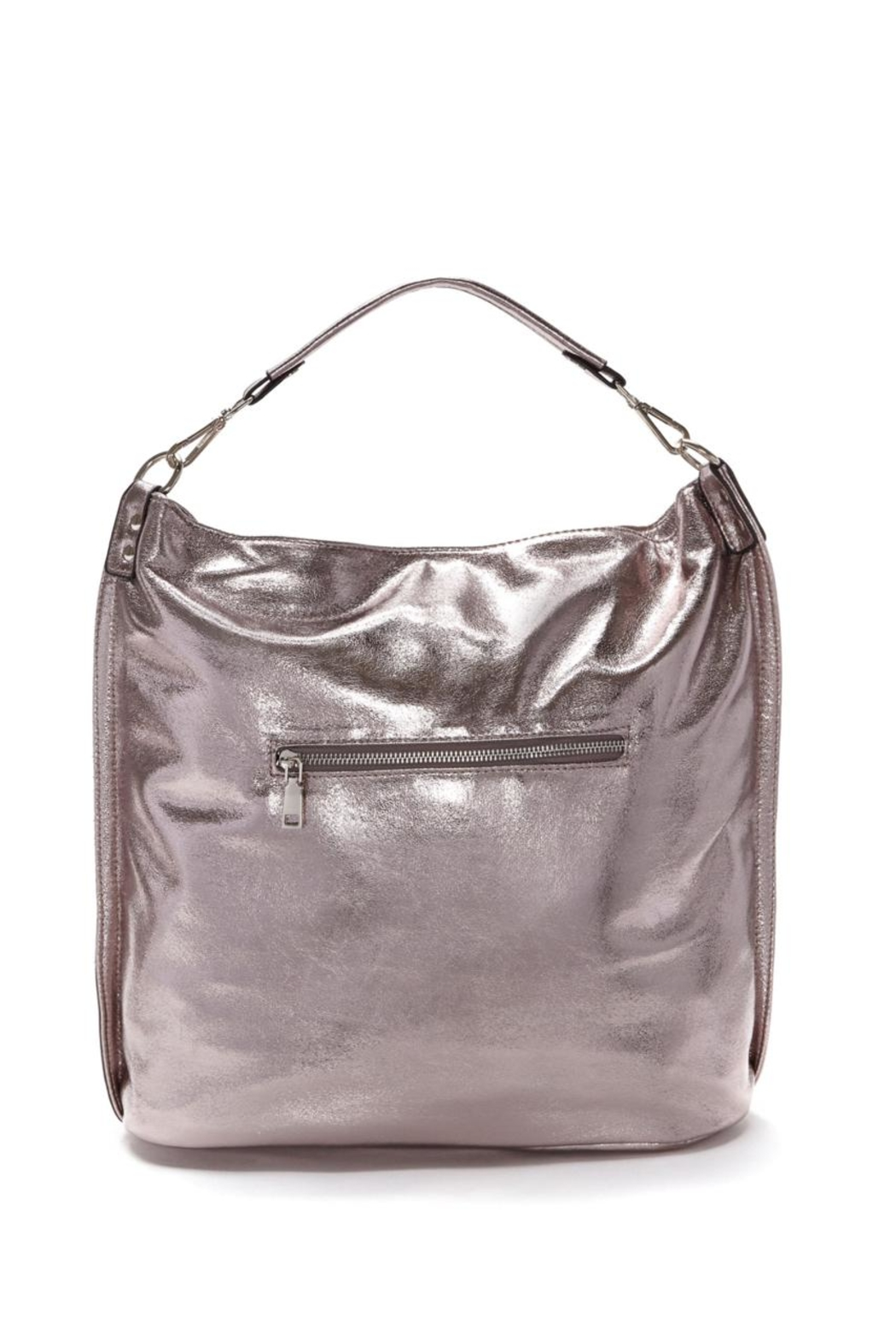 Frank Lyman Glam Bucket Bag - Front Full Image