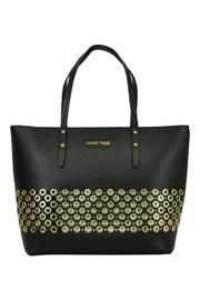 Frank Lyman Gold Circle Tote - Front cropped