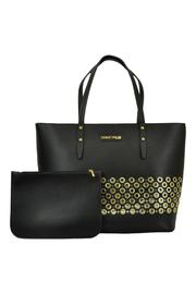 Frank Lyman Gold Circle Tote - Front full body