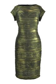 Frank Lyman Gold Wave Dress - Product Mini Image