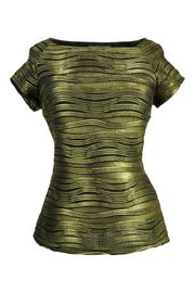 Frank Lyman Gold Wave Top - Product Mini Image