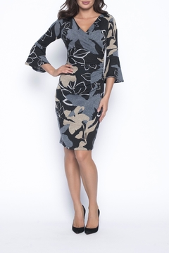 Frank Lyman Knit Wrap Dress - Product List Image