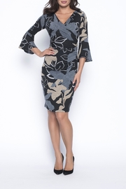 Frank Lyman Knit Wrap Dress - Product Mini Image