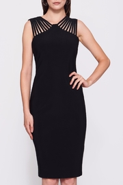Frank Lyman Lace Black Dress - Front cropped