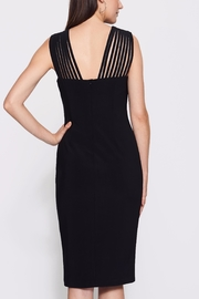 Frank Lyman Lace Black Dress - Front full body