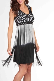 Frank Lyman Lace & Fringe Dress - Product Mini Image