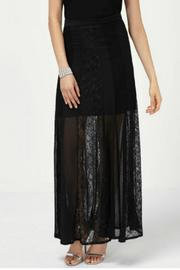 Frank Lyman Lace Maxi Skirt - Product Mini Image