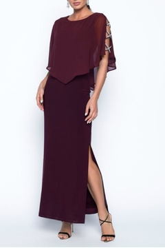 Frank Lyman Merlot Evening Gown - Product List Image