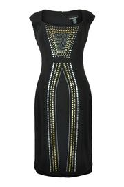 Frank Lyman Metallic Studded Dress - Product Mini Image